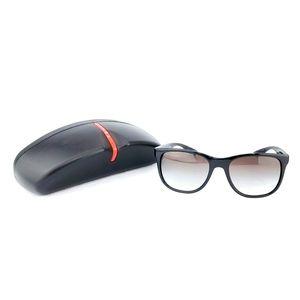 PRADA Men's Linea Rossa Series Sunglasses w/ Case